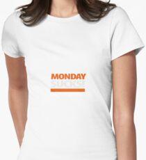 Monday sucks Tailliertes T-Shirt für Frauen