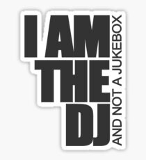 DJ Jukebox Sticker