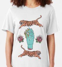 Fire Hoop Slim Fit T-Shirt
