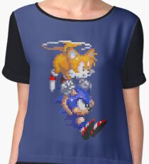 Sonic And Tails Chiffon Top
