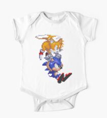 Sonic And Tails One Piece - Short Sleeve