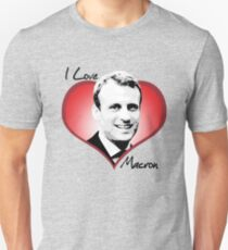 Ich liebe Macron Slim Fit T-Shirt
