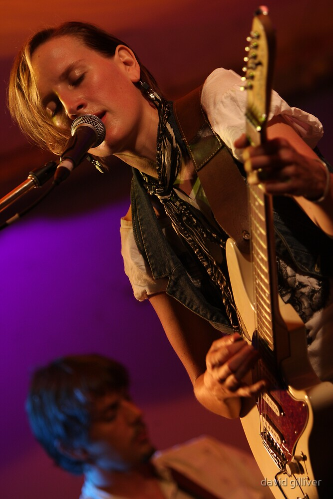 Matt Walker and Mia Dyson by david gilliver