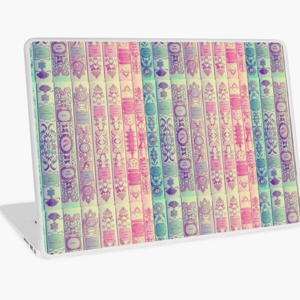 Pattern Books Laptop Skin