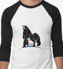 DEFEND TRANS YOUTH  Men's Baseball ¾ T-Shirt