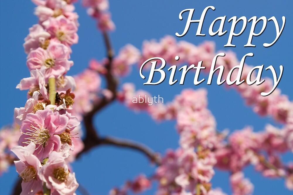 Happy Birthday by ablyth