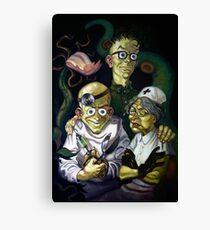 Maniac Mansion Creepy Canvas Print