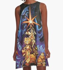 Day Of The Tentacle  A-Line Dress