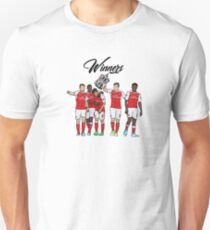 Arsenal - FA Cup Winners 2017 Unisex T-Shirt