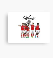 Arsenal - FA Cup Winners 2017 Canvas Print
