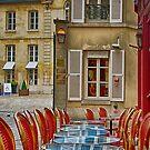 Café in Versailles by Kasia-D