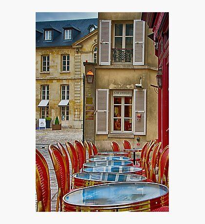 Café in Versailles Photographic Print