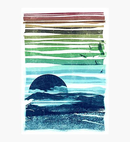 sea landscape Photographic Print