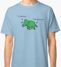 Triceratops Tricerabottom Classic T-Shirt
