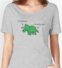Triceratops Tricerabottom Women's Relaxed Fit T-Shirt