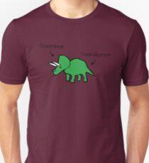 Triceratops Tricerabottom Unisex T-Shirt
