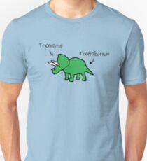 Camiseta ajustada Triceratops Tricerabottom