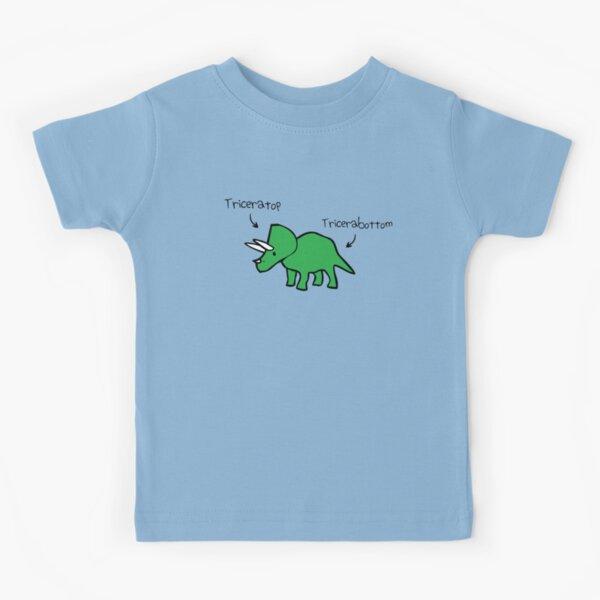 Triceratops Tricerabottom Kids T-Shirt