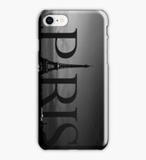 Paris lovers only iPhone Case/Skin
