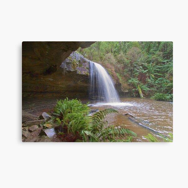 0131 Lower Kalimna Falls - Lorne Metal Print