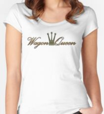 Wagon Queen Women's Fitted Scoop T-Shirt