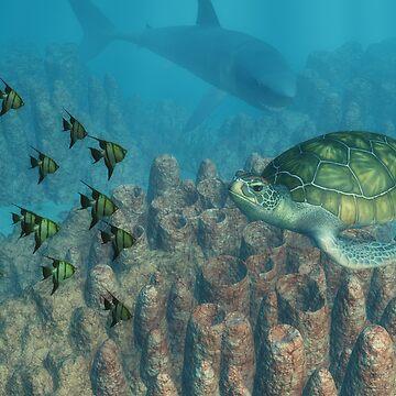 Sea life by Kallbo