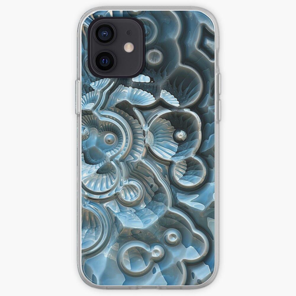 Reflections of A Fractal Fossil iPhone Case & Cover