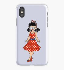 1950s Rock and Roll Chick iPhone Case/Skin