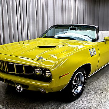 Yellow Cuda by hammye01