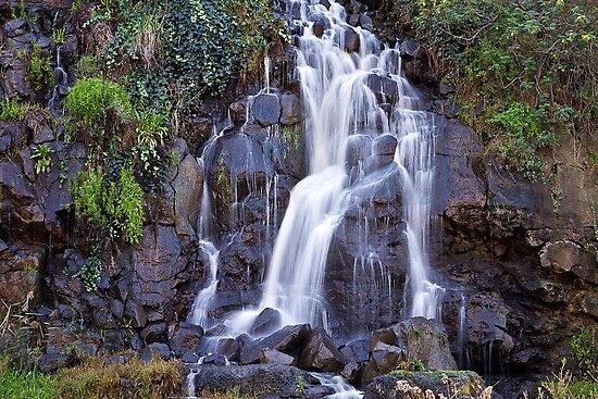 0341 Paper Mill falls - Barwon River by Hans Kawitzki