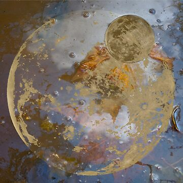 When the Moon fell into the Pond by CrismanArt