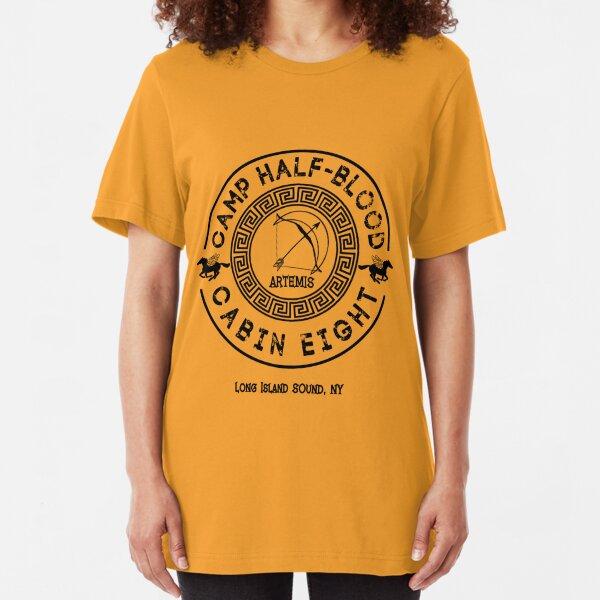 Percy Jackson - Camp Half-Blood - Cabin Eight - Artemis Slim Fit T-Shirt