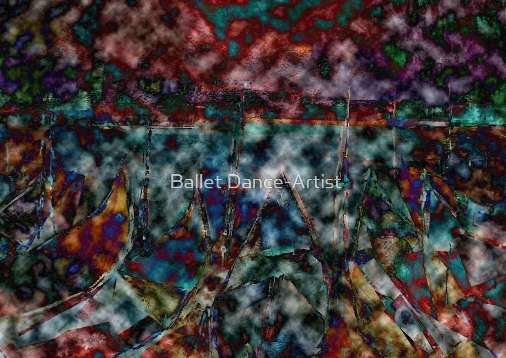 Venice Gondolas - Digital Art by Ballet Dance-Artist