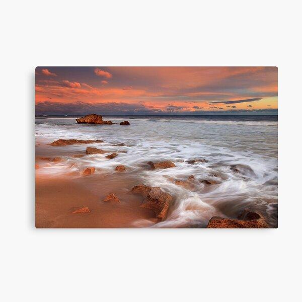0344 Afterglow - Pt Lonsdale Canvas Print