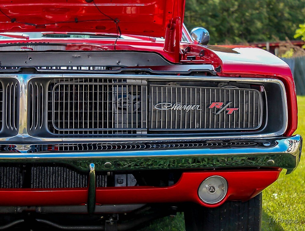 Classic Dodge Charger RT  by TKPhotos