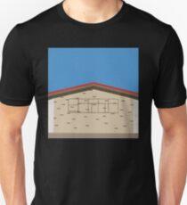 0131 Exterior of building retro T-Shirt