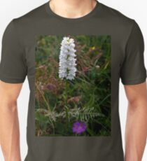 Irish White Orchid, Inishmore Unisex T-Shirt