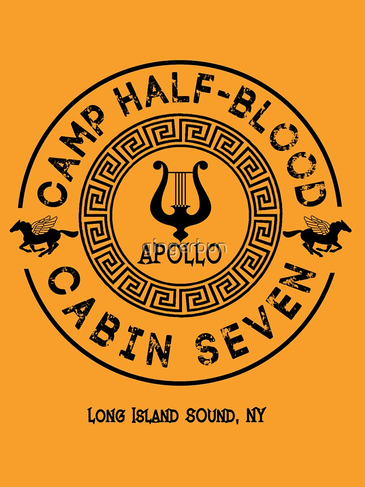 TShirtGifter presents: Percy Jackson - Camp Half-Blood - Cabin Seven - Apollo | Unisex T-Shirt