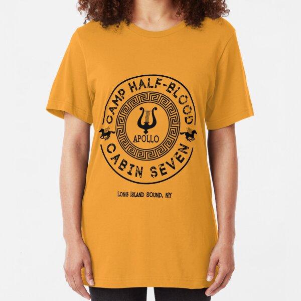 Percy Jackson - Camp Half-Blood - Cabin Seven - Apollo Slim Fit T-Shirt