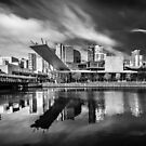 Dockland Reflection by Christine Wilson