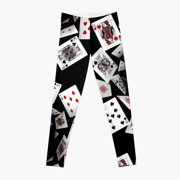 Falling Cards Leggings