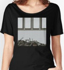 0139 Felled urban tree Women's Relaxed Fit T-Shirt