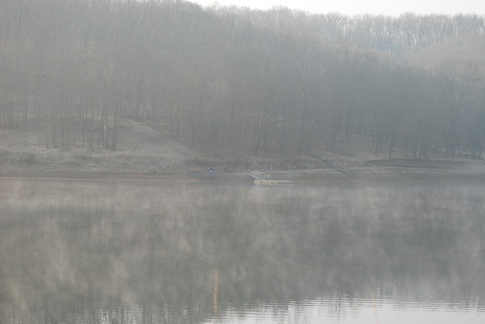 Misty Morning by Jim Caldwell