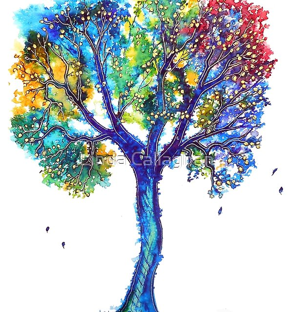 Rainbow Spirit Tree by Linda Callaghan