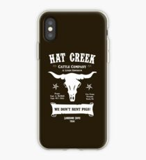 Hat Creek Cattle Company - Lonesome Dove iPhone Case