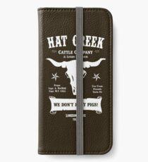 Vinilo o funda para iPhone Hat Creek Cattle Company - Paloma solitaria
