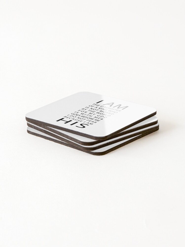 Alternate view of Christian Quote Coasters (Set of 4)