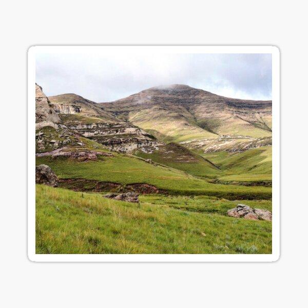 Lush Mountain Highlands Sticker
