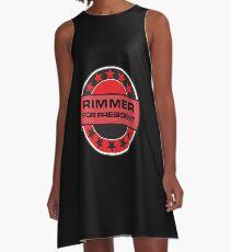 Rimmer For President A-Line Dress