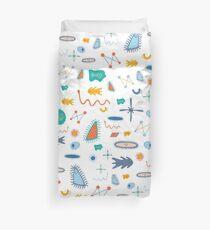 Merry Microbes 1.0 Duvet Cover